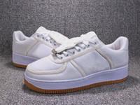 Wholesale air f - Hot Sale! White Shoes SB Travis 3 Style Blazers Unisex Designer Air Skateboard Sneakers F 1 AQ4211-100 Men Women Sports Shoes