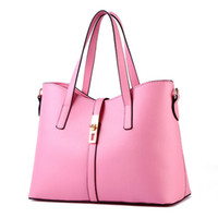 большая сумка женская оптовых-New Women Bag Female Handbag Ladies OL Shoulder Bag PU Leather Big Capacity Dollar Price Messenger Bags Casual Crossbody Bags