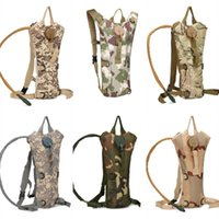 Wholesale bicycle bags online - 3l Capacity Bicycle Riding Inner Gallbladder Bags Outdoors Sport Camouflage Water Packages Nylon Waterproof Bag High Quality lr X