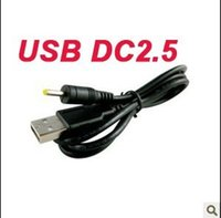 Wholesale dc jack mm for sale - Group buy DC2 USB charge cable to DC mm to usb plug jack power cord for nokia