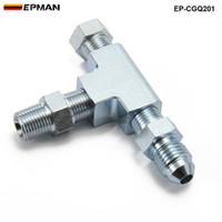 alimentation en huile achat en gros de-EPMAN - Té de raccordement pour adaptateur 3 voies 1/8