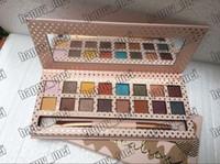 16 sombra de olhos venda por atacado-Frete Grátis ePacket Nova Maquiagem Olhos Me Leve Em Férias Eyeshadow Palette 16 Cores Eyeshadow!