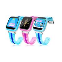 relógio gps de qualidade venda por atacado-Hot gps smart watch q750 q100 relógio do bebê com wi-fi 1.54 polegadas touch screen SOSCall dispositivo de localização rastreador Kid Safe PK Q50 Q60 Q80 Q80 Top Quality