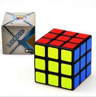 jouets éducatifs pour adultes achat en gros de-Magic Cube Professionnel Vitesse Puzzle Cube Twist Toys 3x3x3 Classique Puzzle Magic Toys Adulte et Enfants Jouets Éducatifs