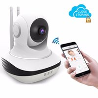 Wholesale Wireless Cloud Camera - Home Wi-fi Wireless Camera Mini HD 720P IP Security Home Surveillance Baby Monitor Cloud Storage Night Vision Motion Dectection