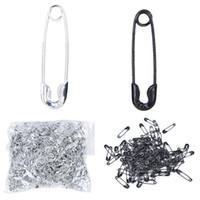 kıyafet askı etiketleri toptan satış-19mm 2 Güvenlik Küçük Pin Giyim Etiketi sling asılı tabletler mini metal Pin Raptiye Kilit Pimi Konfeksiyon Aksesuarları 1000 adet / takım