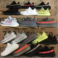 Wholesale Red Light Night - Beluga 2.0 Boost 350 v2 2018 New Grey Bold Orange Yellow Semi Frozen Blue Tint Red night Men Women Running Shoes