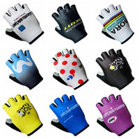 Wholesale cycling gloves tour - BORA TOUR DE FRANCE team Cycling Gloves Bicycle Clothing new Outdoor Racing Wear-resistant Bike D 2004