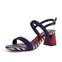 812109a58ff82 Venta al por mayor de Zapatos Azules Baratos De La Señora - Comprar ...