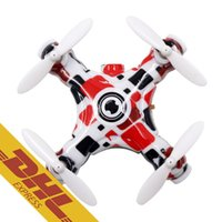 Wholesale Toy Drone Helicopter Camera - 16pcs lot 2.4G Mini RC Quadcopter with 0.3MP drones camera hd Video 6CH RTF Remote Control Helicopter drone E905B Toys for Kids Xmas Gift