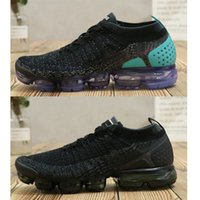 Wholesale green move - 2018 Summer New Style Fly Vapormax 2.0 Running Shoes For Men And Women Size 36-45 Black White Without Box Moves You
