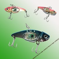 Wholesale vibration fishing lures for sale - Group buy Vibration sinking fishing lures LED fishing lures New Fishing Lure Baits Tackle Crankbaits Hooks Minnow Baits