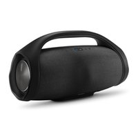boombox haut-parleur bluetooth achat en gros de-2018 Boombox Bluetooth haut-parleur 3D HIFI Subwoofer mains libres Subwoofers stéréo portables en plein air avec la boîte de détail DHL gratuit