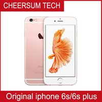 "Wholesale Iphone Apple China - 100% Original Refurbished Apple iPhone 6S Cell Phones 16G 64G 128G IOS Rose Gold 4.7"" i6s Smartphone Wholesale China DHL free"