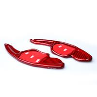 positron chave remoto venda por atacado-Alongar Estilo carbono fibra de direcção da roda de pás deslocamento apto para AUDI A3 A5 A4L Q5 Q3