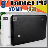 Wholesale 9 tablets android resale online - 848 quot Inch Quad Core Android Tablet PC Actions Dual Camera MB RAM GB Capacitive Touch Screen GHZ WIFI Allwinner A33 MID B PB