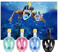 Wholesale Best Sale Ring - HOT Sale Diving Mask Underwater Scuba Anti Fog Full Face Diving Mask Snorkeling Set with Anti-skid Ring Snorkel Best Price