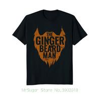 ingrosso vestito dalla barba-The Ginger Beard Man - Vintage Beard Shirt New Mens Primavera Estate Dress manica corta Casual
