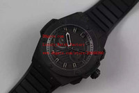 relógio de rei aaa venda por atacado-Fábrica Fornecedor de Luxo AAA Relógios de Pulso Modelo Black dial PVD Qualidade New King Power movimento de quartzo preto Mens Watch Relógios dos homens