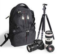 kameras 7d großhandel-Wasserdichte Durable Fotografie Rucksack Kamera Tasche Rucksack Fall für Nikon Canon 550D 60D 7D 5DII 500D 450D 1000D DSLR Kameras