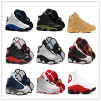 Wholesale Men S Bands - Mens 13 HYPER ROYAL Wheat He Got Game Altitude Basketball Shoes 2018 Fashion Mens 13s Athletics Sneakers Sports shoe 13's Trainers With Box
