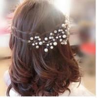 hair braiding tools 2018 - Women Girls Fashion Hairpins Simulate Pearl Hair Clip Wedding Bridal wear Hair Pins Styling Tools Braiding Accessories 5Pcs