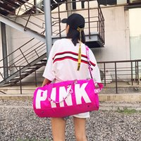 Wholesale new style door online - Fitness Storage Bag Training Package High Capacity New Pattern PINK Printing Fashion Portable European And American Style cya X