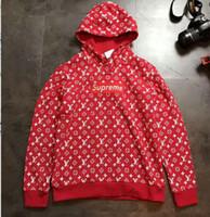 Wholesale high neck pullover for women - High quality kanye justin biber hoodies for men Women Men embroiderd box logo Cotton Yeezus justin biber sweatshirts