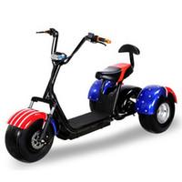 ingrosso sedile bicicletta elettrico-320622 / 1000W60V Harley electric car / tre round bicicletta elettrica / doppio scooter elettrico / Sedile morbido e confortevole