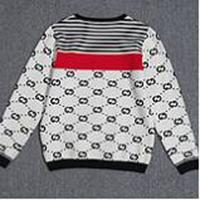 Wholesale knit belt - Top quality Luxury Sweaters letters print High street fashion clothing black 2XL m1460