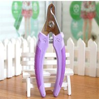 Wholesale Professional Grooming Supplies - Dog Grooming Trimming Pet Supply Stainless Steel Cutter Nail Files Shears Grinder Tool Dog Nail Clippers Professional BBMX427