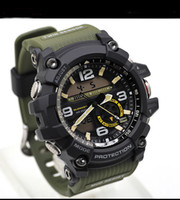 Wholesale new digital camouflage - Top Brand Luxury Camouflage GG1000 Small Working Dail Multi Functional G Style Waterproof Military Shock Watches Analog Quartz Outdoor Clock