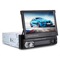 weinauto großhandel-Universal Auto MP5 Player Auto Multimedia Player 7'Zoll TFT LCD Bildschirm mit Bluetooth FM Radio GPS mit Fernbedienung Wince System