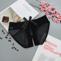 kadın külot pantolon toptan satış-Seksi Kadınlar Dantel Açık Külot Bayan Seksi bakın çamaşırı Kadın Külot Kadın ilmek İç sayesinde