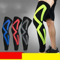Wholesale drying clothes outdoors for sale - Group buy Outdoors Elastic Force Kneepad Basketball Riding Protective Clothing Gear Man Fashion Cycling Leg Warmers Breathable Quick Dry qy Ww