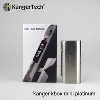 vape mod kbox al por mayor-Al por mayor-Barato Kanger Kbox Mini Platinum 60W TC Caja Mod Temp Control Vape Mod Fit 18650 BATERÍA en la promoción más caliente con precio especial