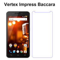Wholesale full lcd screen phone for sale - Group buy Screen Protector For Vertex Impress Baccara Glass Protective LCD Front Film Tempered Glass Case For Vertex Impress Baccara Phone