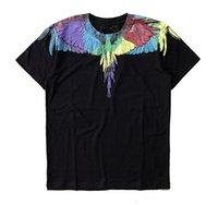 Wholesale l s magazine - Tshirts Men Women Italy County of Milan Feather Wings MB T Shirt RODEO MAGAZINE Tee Fashion Men's T-Shirts S-XL