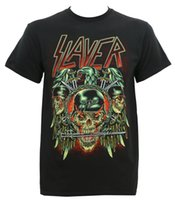 bdd3bc9a0ccfa Authentic Slayer Band Prey Background S M L Xl 2Xl New T Shirt Men s Demin  Short Sleeve Crewneck Cotton Big Size Team Cami