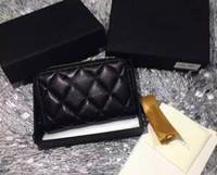 6421a0bd0 Nova marca de pele de carneiro Mulheres zipper coin purses couro genuíno  carteira pequena para senhora 680