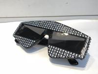 ingrosso diamanti designer occhiali da sole-Limited Edition 0289 Occhiali da sole Sparkling Diamond Designer Frame Bling Bling Protezione UV Top Fashion Fashion Occhiali da sole estivi per le donne
