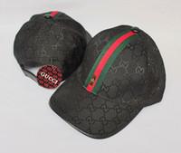 yaz şapkaları erkek toptan satış-Yeni erkek tasarımcı şapkalar ayarlanabilir beyzbol kapaklar lady moda şapka yaz trucker casquette kadınlar eğlence kap 005