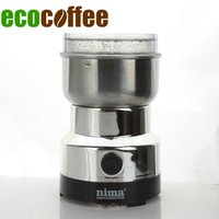 Wholesale Beans Grinder - Stainless steel electric coffee grinder seed grinding in Stock Espresso Coffee Bean Mill 200V Kitchen Applience