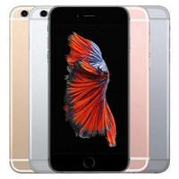 Wholesale Apple Video Iphone - Refurbished Original Apple iPhone 6S 16GB 64GB 128GB ROM 4.7 inch iOS Dual Core 2GB RAM 4G LTE 12MP 4K Video Unlocked Mobile Phone DHL 1pcs