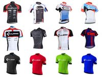 Wholesale maillot cube - 2018 team CUBE cycling clothing maillot ciclismo Short Sleeves Ropa ciclismo hombre bike jersey ropa ciclismo hombre C1908