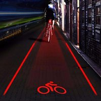 bisiklet lazer ışını toptan satış-5 LED + 2 Lazer Kirişleri LED Bisiklet Lazer Işık Arka Lambası Bisiklet Arka Işık Işın Emniyet Dönüş Sinyalleri için LED Işıkları bisiklet Aksesuarları