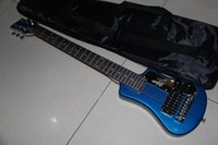 Wholesale New Arrival Best Travel Electric Guitar Free Bag In blue