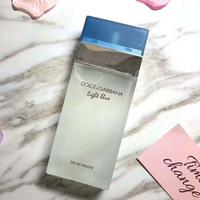 frascos de perfume azul al por mayor-2019SS Nueva botella cuadrada clásica de perfume neutro azul claro que dura perfume fresco botella de vidrio en spray de maquillaje 100ml3.4FL OZ.