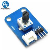 ingrosso tavole avr-Modulo potenziometro rotativo da 10 K Ohm Rivoluzione Scheda RP XDCP per Arduino UNO PIC AVR MCU DSP