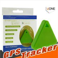 verloren schlüssel finder iphone groihandel-Mini GPS Tracker Smart Wireless Bluetooth 4.0 Anti-verlorene Alarm Tracker iTag Key Finder Stimme für iPhone Samsung Android Smartphone